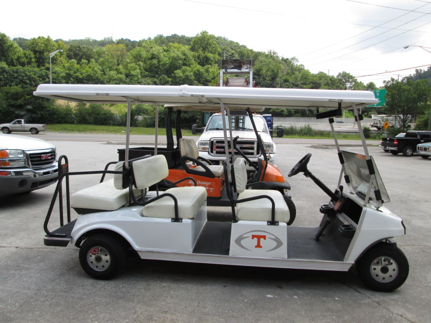 Football time in Tennesee-New Vinyl Wrap for Vol's Golf Carts! - Jim on